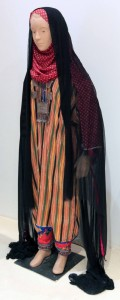 A regional-style of an Omani woman's dress.