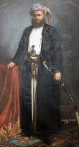 Painting of Sultan Seyyid Barghash bin Said.