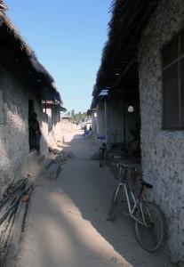 Street in Paje.