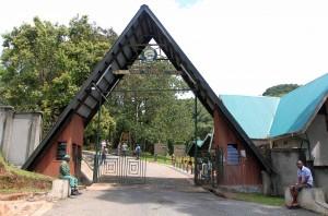 Machame Gate, one of several entrances to Mount Kilimanjaro National Park.