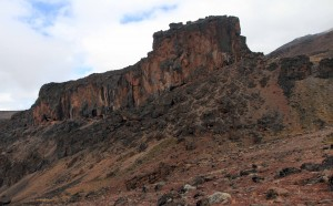 The eastern side of Lava Tower.