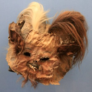 Mask that looks remarkably similar to an Ewok.
