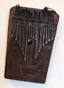 Thumb piano.