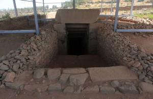 Entrance to Gebre's tomb.