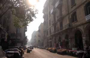 Street in Cairo.
