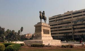 Statue of Ibrahim Pacha (1789-1868).