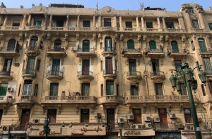 Building in Cairo.