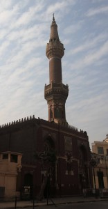 El Tabakh mosque, located next to the Cairo Governorate.