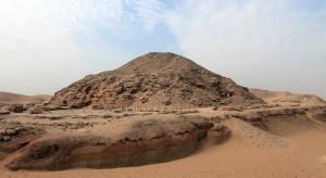 Sekhemkhet Pyramid in the North Saqqara Pyramid complex.