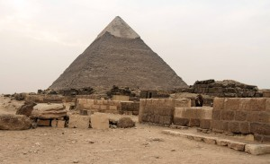 Another view of the Pyramid of Khafre.