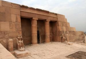 Another mastaba at the Giza necropolis.