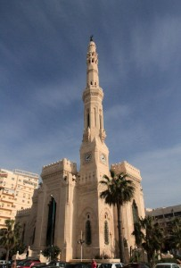 El Qaaed Gohar Ibrahim mosque in Alexandria.