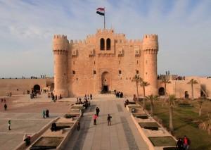 Qaitbay Citadel, built in 1477 AD.
