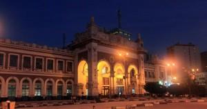 Masr Railway Station in Alexandria.
