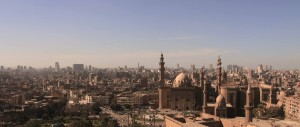 Cairo, seen from the Citadel.