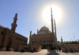 The Mosque of Mohammed Ali.
