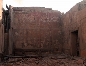 Destroyed part of Al Gawhara Palace.