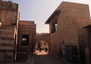 Arched-gate next to Tarabay al-Sharifi.