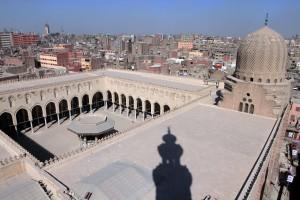 The mosque north of Bab-Zuwayla.