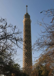 "Cairo Tower (also known as ""Nasser's prick"")."