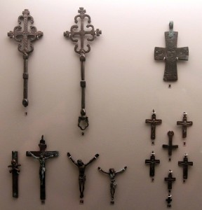 Oriental and Byzantine crosses.