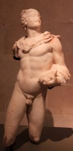 Statue of the god Mercury.