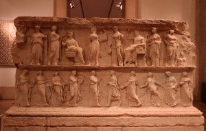 Tribune from the Sanctuary of Eshmun (350 BC).