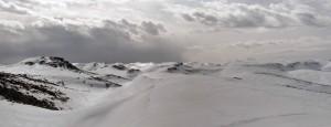 The cold and arid environment at Mzaar Ski Resort.