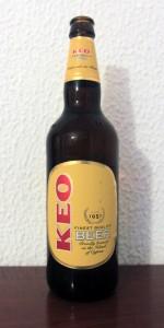 Keo beer, produced in Cyprus.