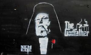 Street art in Nicosia.
