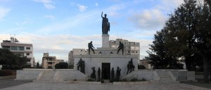 Liberty Monument in Nicosia.