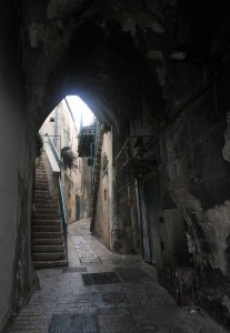 Street in the old city of Nazareth.