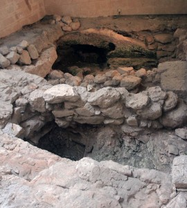 Ruins from Jesus' time.