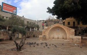Mary's Well (site of the historic well, city center, and where some believe the Annunciation occurred).
