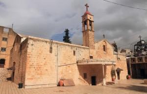 St. Gabriel's Orthodox Church of the Annunciation (the traditional Orthodox place of the Annunciation).