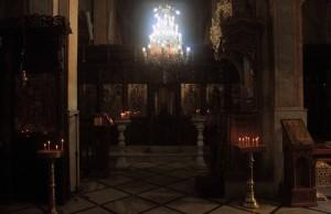 Inside St. Gabriel's Orthodox Church.
