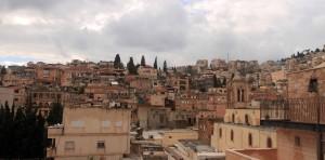 Nazareth skyline.
