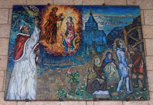 Mosaic from the Vatican.