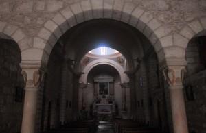 Inside the Wedding Church.
