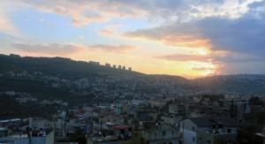 Cana at sunset.