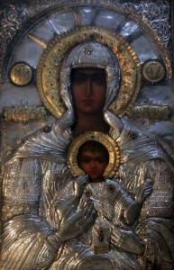 Icon of the Virgin Mary and Child.