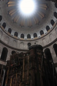 Another view of the Aedicule.