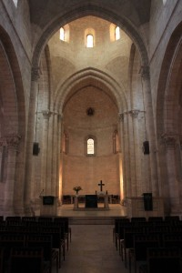 Inside the Church of the Redeemer.