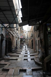 Another street in the Old City of Jerusalem.