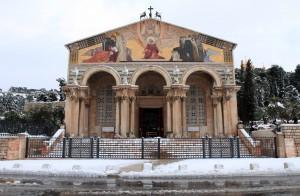 Facade of the Basilica of Agony.