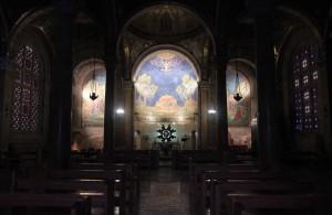 Inside the Basilica of the Agony.