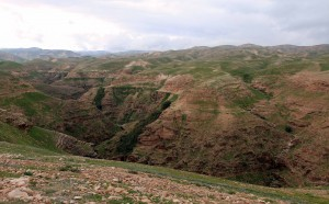 Another view of Wadi Qelt.