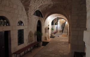 Hall in the monastery.