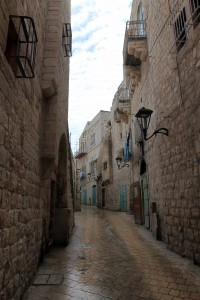 Another, narrower street in Bethlehem.