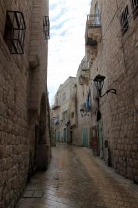 Another, narrower street in Bethlehem.